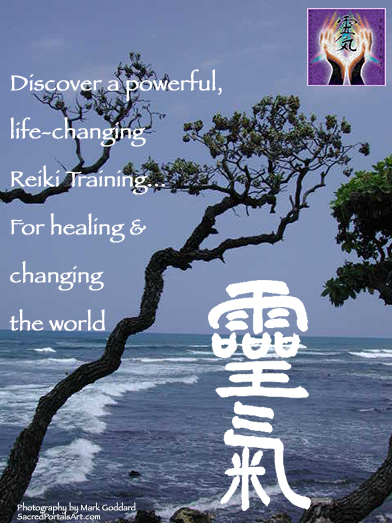 Discover a powerful, life-changing Reiki Master Training Experience... For peace of mind and changing the world.
